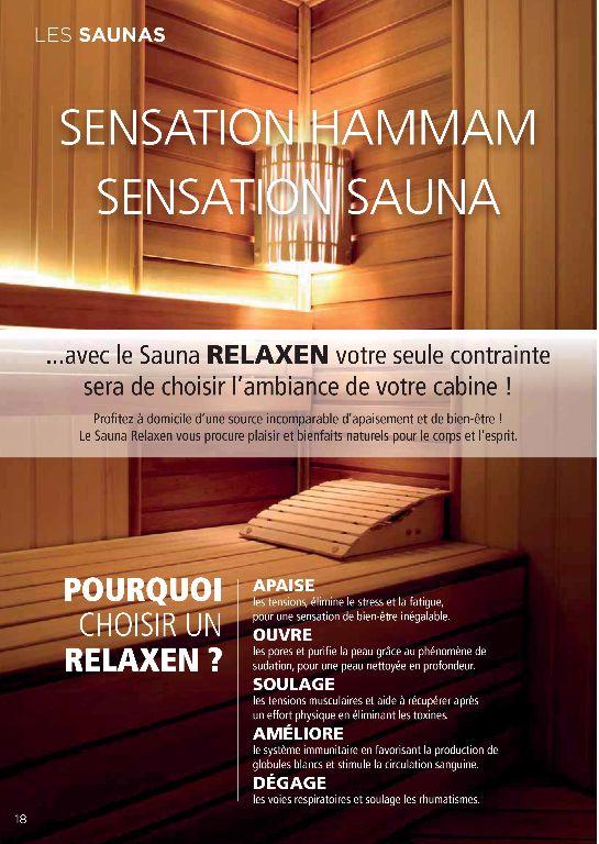 Nouveaute les saunas cr apaysage - Sauna le relax dijon ...