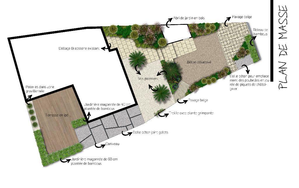 Etudes paysag res cr apaysage for Dessiner plan jardin